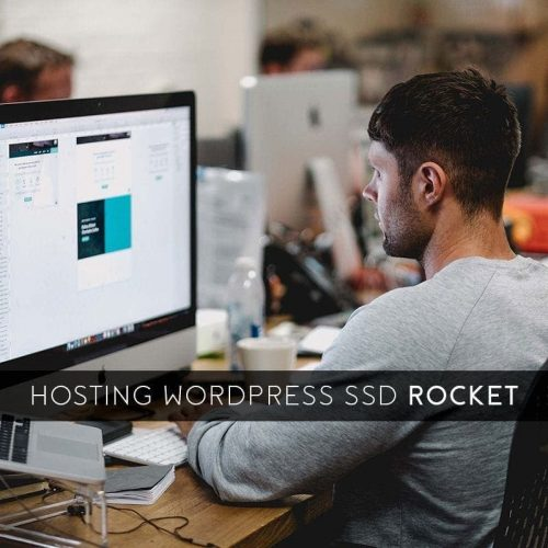 hosting wordpress ssd rocket